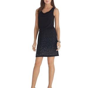 WHBM Studded Sleeveless Dress
